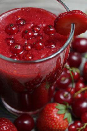 фруктово-овощные коктейли для похудения