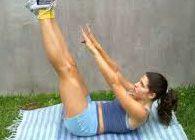 Как убрать жир с живота упражнения для женщин