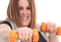 упражнения для рук с гантелями для женщин в домашних условиях видео