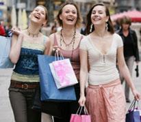 похудение во время шоппинга