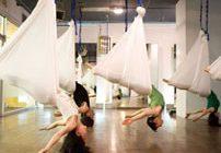 Аэройога или воздушная йога