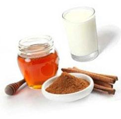 кефир корица мед