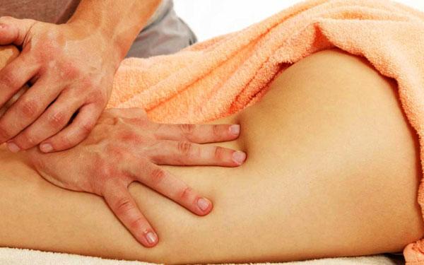 как делать массаж для похудения ног и бедер в домашних условиях
