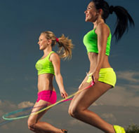 тренировка со скакалкой для женщин