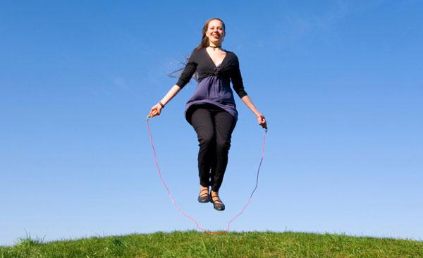 похудение во время прыжков