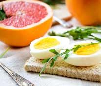 разгрузка на грейпфруте и яйце от Королевой