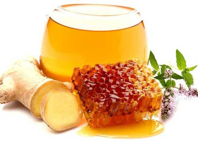 имбирь мед вода