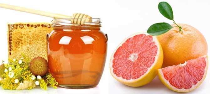 мед и цитрусы