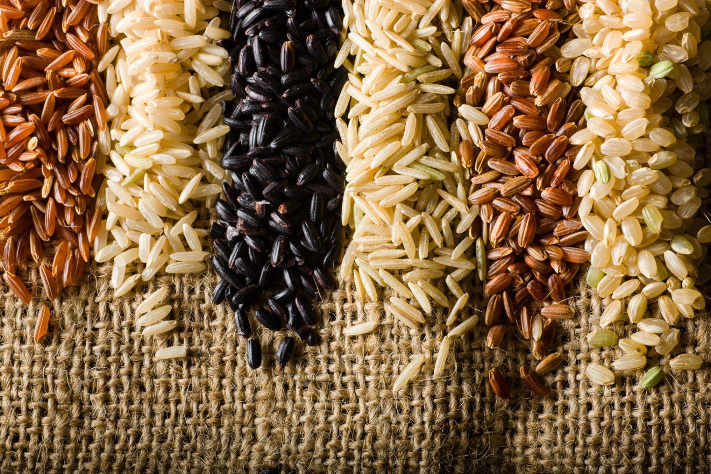 красный бурый или черный рис