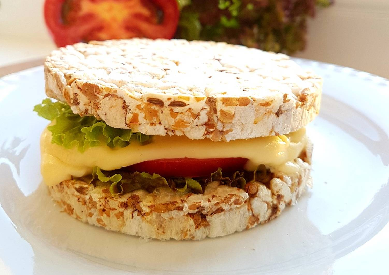 бутерброды с хлебцами