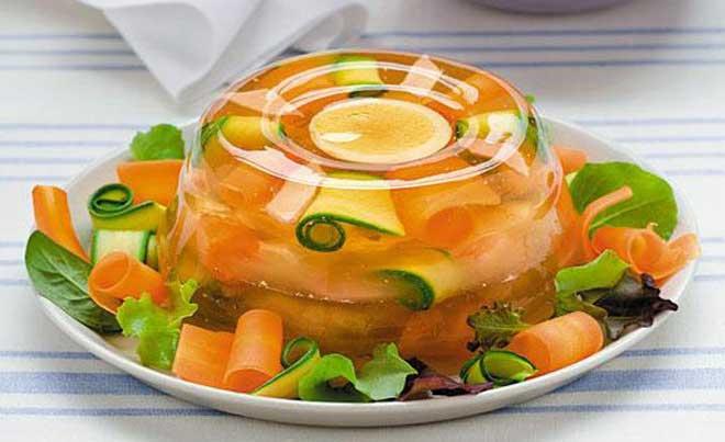 диета для похудения на желатине