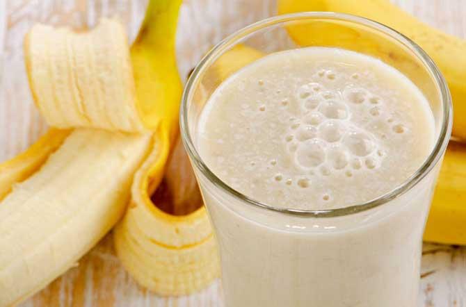 бананы, кефир и молоко для похудения