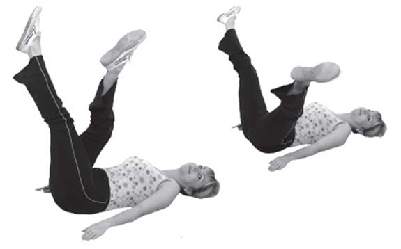 упражнения от жира внутри бедер