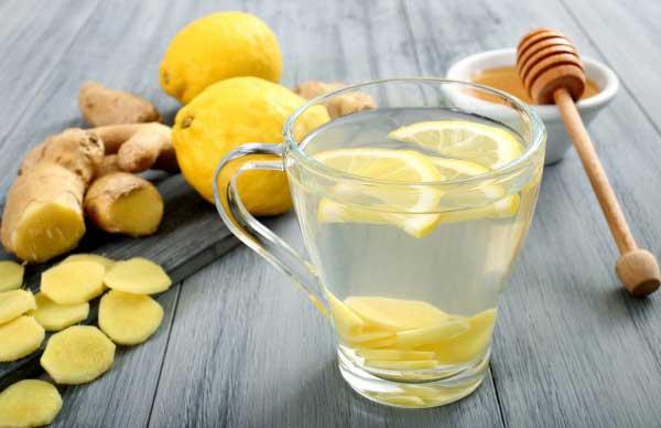 как приготовить воду с лимоном и имбирем