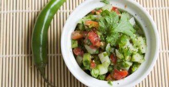 вкусный и простой рецепт салата с авокадо