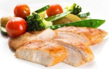 Разгрузочный день на куриной грудке и овощах