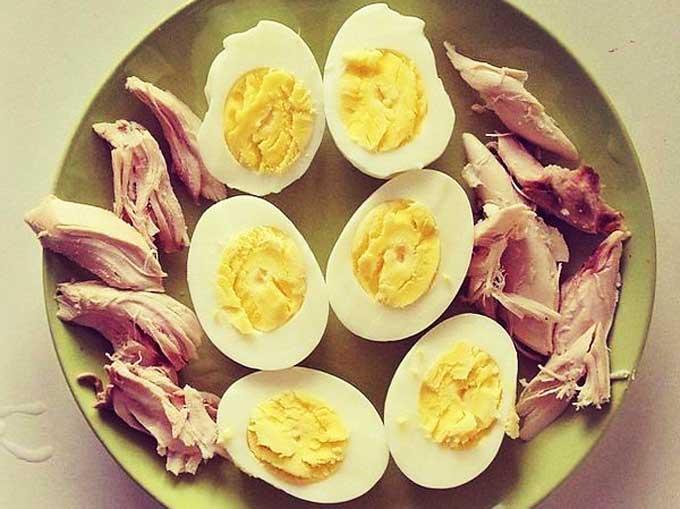 курятина и яйца