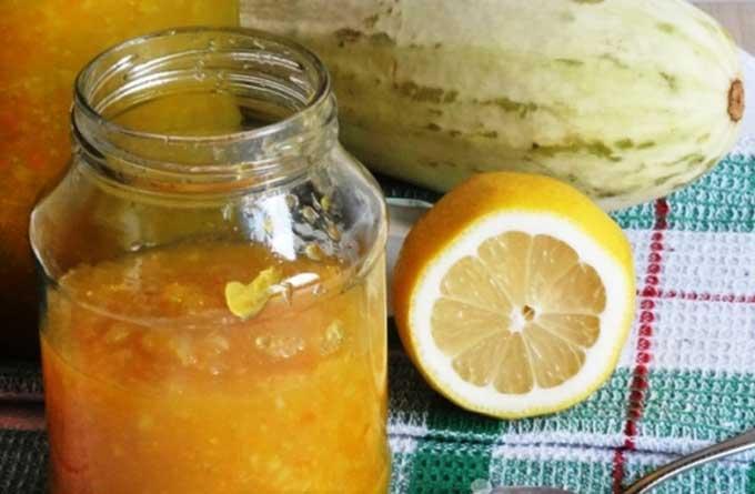 варенье из кабачков и лимона рецепт самый вкусный