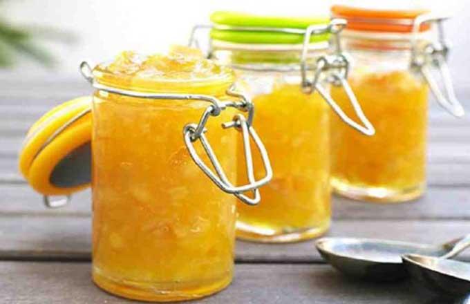 кабачковое варенье с апельсином через мясорубку