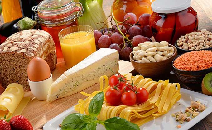 подсчет калорий в таблице
