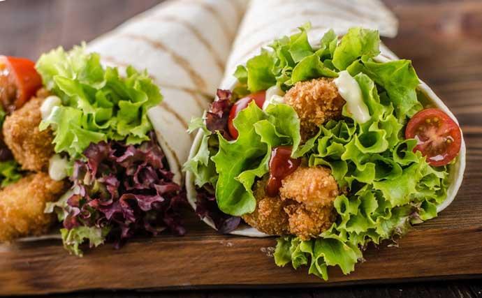 калорийность шаурмы с курицей в лаваше