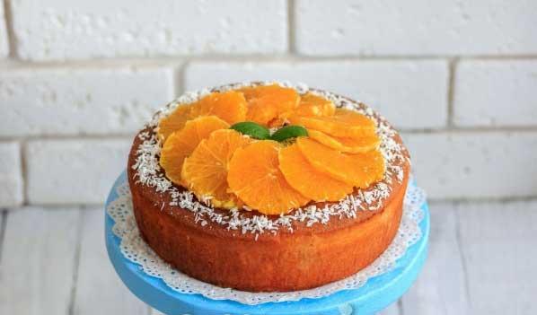 калорийность бисквита с апельсинами