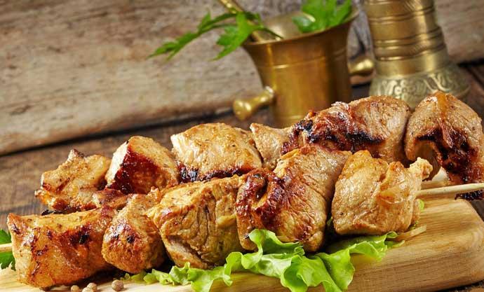 курица или свинина